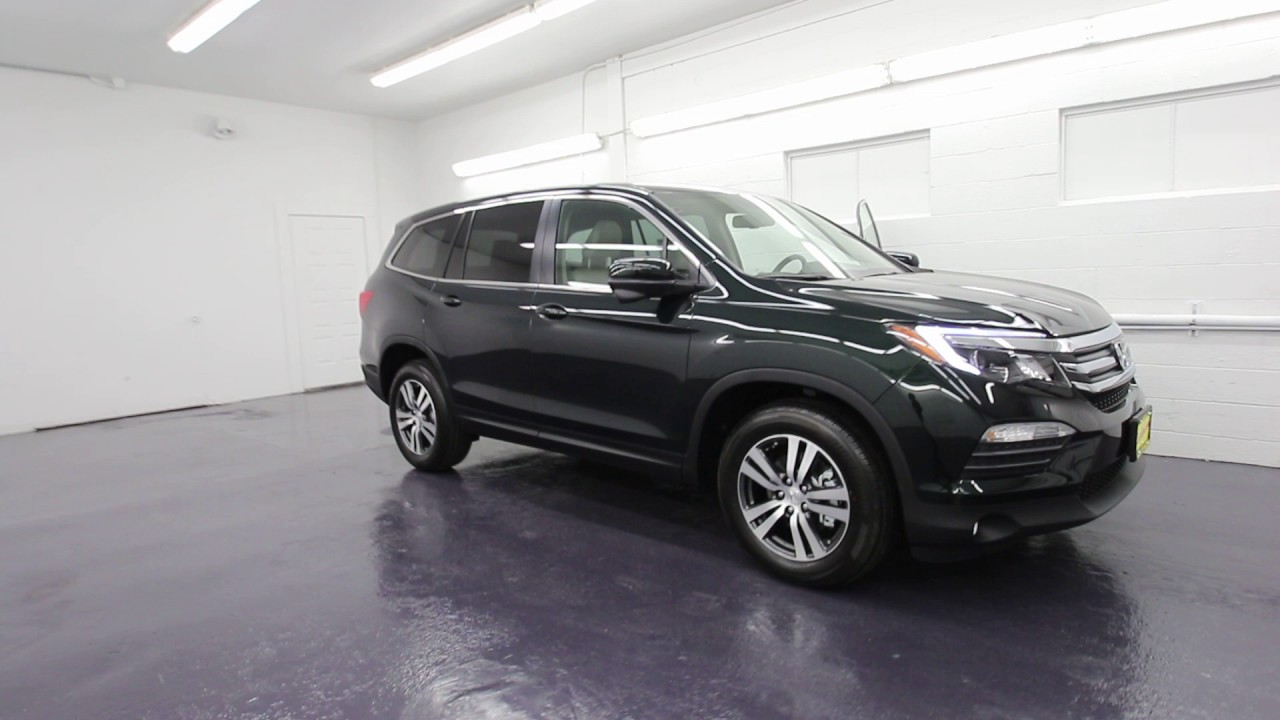 2016 honda pilot ex l black forest gb070343 seattle for Black honda pilot