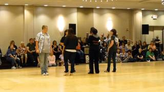 Coolio Line Dance Demo NG version @ Windy City 2013