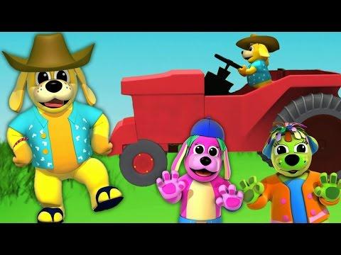 Farmer In The Dell | Nursery Rhymes | Animated Nursery Rhymes With Lyrics by Raggs Tv