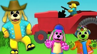 Farmer In The Dell | Nursery Rhymes | Animated Nursery Rhymes With Lyrics by Raggs Tv