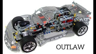 Crowkillers 2017 40th Anniversary Lego Technic Outlaw Supercar Mechanical Video