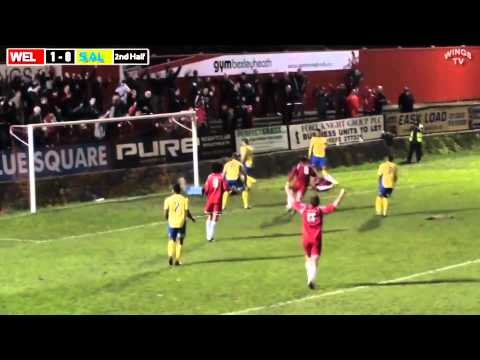 Welling United goal of the month competition November 2012 Non League Football