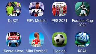 DLS 21,Fifa Mobile 21,Pes 21  Mobile,Football Cup 2021,Score! Hero,Mini Football,Real Football screenshot 3
