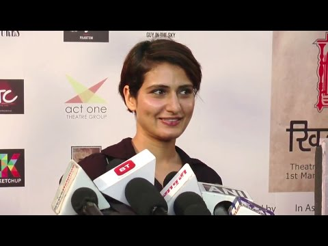 CUTE Dangal Girl Fatima Sana Shaikh Interview
