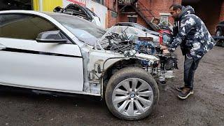 """Мы """"купили"""" самую дешевую BMW 4 в России."""
