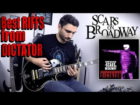 The BEST RIFFS from DARON MALAKIAN Scars On Broadway's new album ' Dictator' - TOP TEN GUITAR COVER Mp3