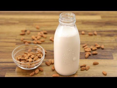How to Make Almond Milk | Homemade Almond Milk Recipe