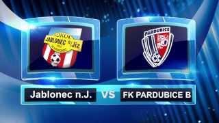 JABLONEC NAD JIZEROU vs FK PARDUBICE B 24.kolo DIVIZE C