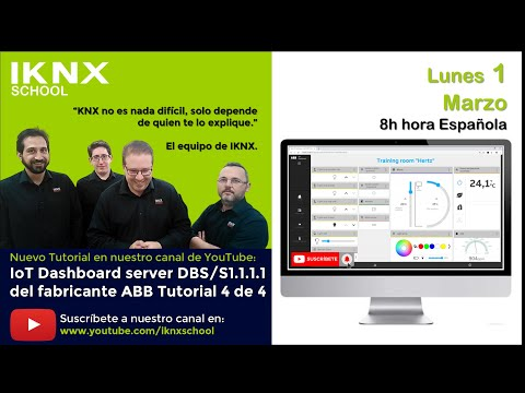 TIPS KNX Nº155. IoT Dashboard server del fabricante ABB. Tutorial 4 de 4.