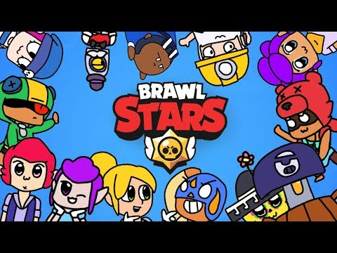 A normal day of brawlers (Brawl Stars animation)