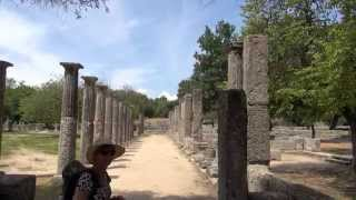 Olympia  -  Archaelogical Museum & Ancient Olympia  (no music)