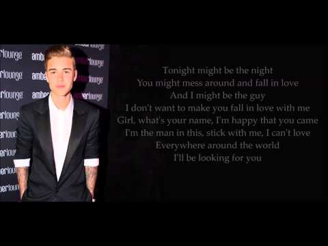 Justin Bieber - Looking For You (Lyrics)