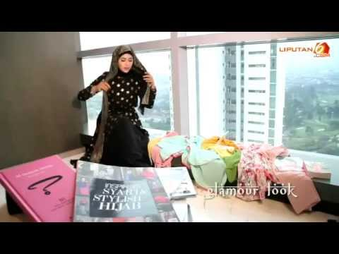 Video Tutorial Hijab Natasha Farani - Cara Pakai Jilbab ...