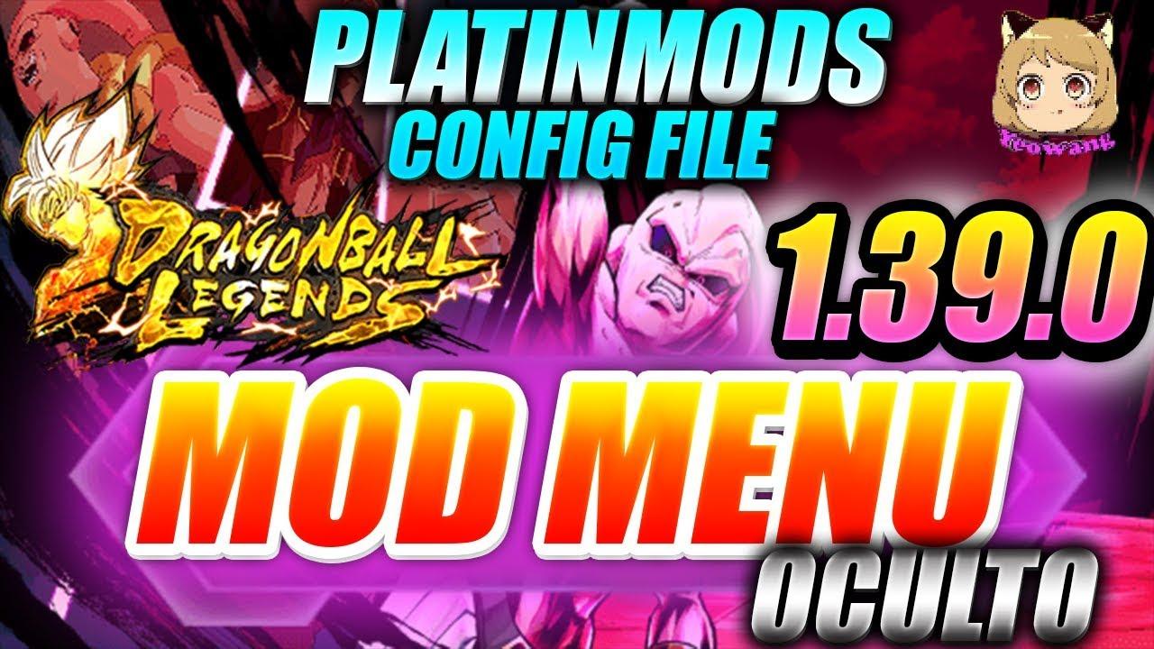DRAGON BALL LEGENDS MOD Menu APK Config File 1.39.0 | Platinmods DB LEGENDS MOD MENU 1.39.0 ✅  #Smartphone #Android