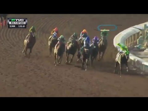 Race Replay 2016 Santa Anita Handicap Youtube