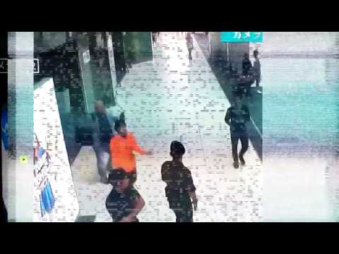Moment of Kim Jong-nam 'assassination' captured on security camera