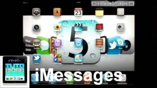 [1] iOS5 - iMessages - Comment configurer et se servir de iMessage - Tutoriel