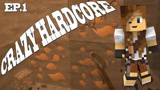 WSPANIAŁY POCZĄTEK   Crazy hardcore #1   Minecraft Hardcore 1.14.4