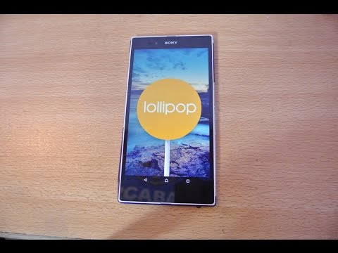 Sony Xperia Z Ultra Android 5.1.1 Lollipop - Review HD