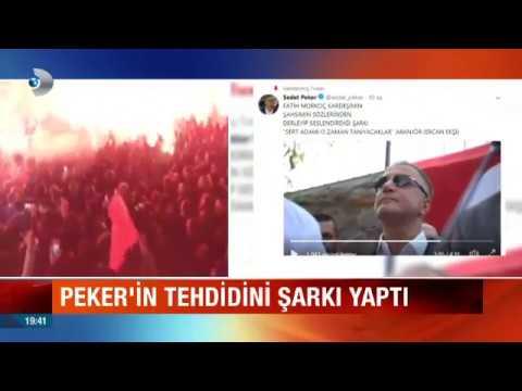 Sedat Peker'in Tehdidini Şarkı Yaptı!