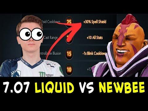Miracle WTF 7.07 Anti-Mage — TI7 finals rematch Liquid vs Newbee