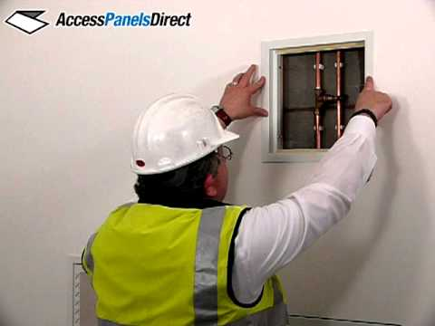 Access Panels Direct How To Fit Both Plastic And Metal