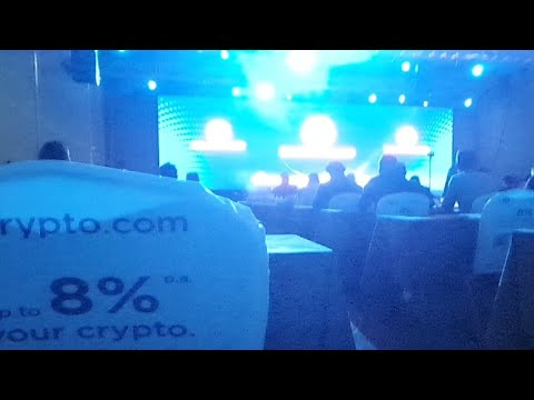 Epic music during the conference break - Blockchain Economy 2020