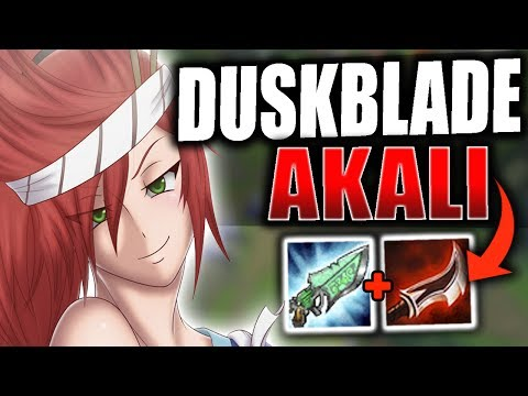 DUSKBLADE AKALI IS LEGIT BROKEN! (INSANE ONE-SHOTS) ABUSING LETHALITY IN RANKED - League of Legends