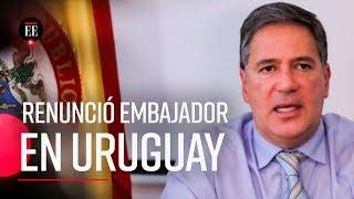Fernando Sanclemente deja embajada en Uruguay por narcoescándalo - El Espectador