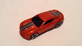 Hot Wheels 2018 Camaro SS (New For 2018! - Muscle Mania)