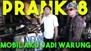 MOBIL AKU JADI WARUNG! GREBEK LIVE DI TV NASIONAL