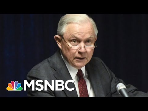 WAPO: Trump Talked To Sessions Aide About Replacing Him As Attorney General   The 11th Hour   MSNBC