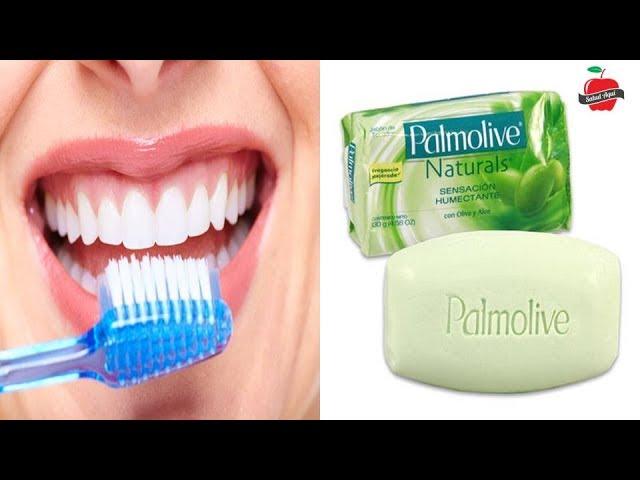 Cómo cepillarse los dientes con Jabón