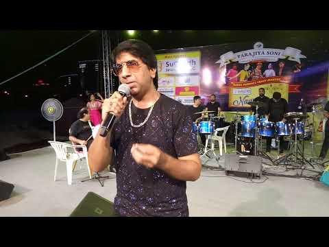 Radha shyaam rame. Aslam Parmar live Dubai Navratri 2019 @wonderland water park. Dubai