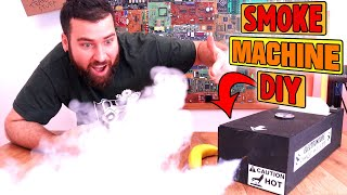Homemade Powerful Smoke Machine | Cheap Parts DIY