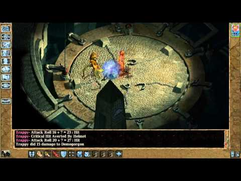Baldur's Gate 2 Monk solo part 58 : Demogorgon