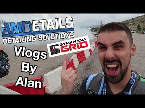 Monster Energy Gymkhana Grid 2016 Vlog - Greece