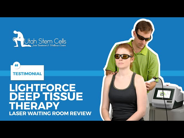 LightForce Deep Tissue Therapy Laser Waiting Room Video