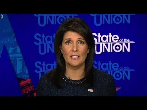 سفيرة أمريكا للأمم المتحدة: السماء لم تسقط بسبب القدس ونواجه إيران مع العرب  - نشر قبل 9 ساعة