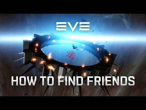 EVE Online - How to Find Friends [Tutorial]
