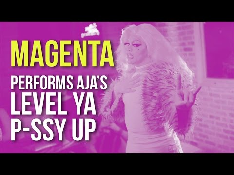 "MAGENTA performs AJA's new single ""Level Ya Pussy Up"""