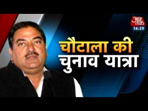 Haryana elections: A day in the life of Abhay Chautala