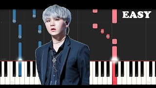 BTS (방탄소년단) - Trivia 轉 : Seesaw (EASY Piano Tutorial)