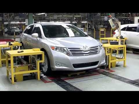 Quy Trình Sản Xuất Xe Toyota