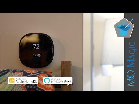 Ecobee4 Smart Thermostat Review: Amazon Alexa & HomeKit Together