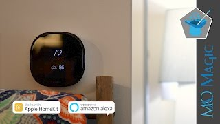 Ecobee4 Smart Thermostat Review: Amazon Alexa & HomeKit Together