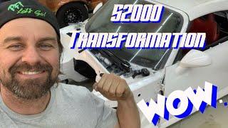 Rehab Garage! Making the S2000 a Roller Again!