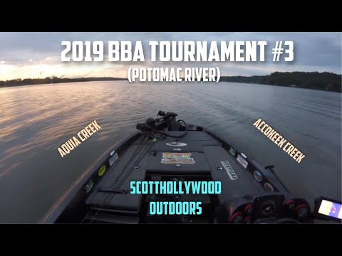 2019 BBA Bass Fishing Tournament #3 (Potomac River)