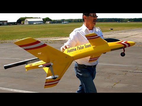 "Pulso Pulse Jet Flight / Austria Pulso Team / fast and loud / Pulsotreffen 2015"" *1080p50fpsHD*"