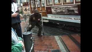 Cable Car Ride that ends with a CRASH in San Francisco